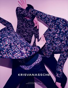 KRISVANASSCHE unveiled its Fall/Winter 2014 campaign shot by Alessio Bolzoni and styled by Mauricio Nardi.