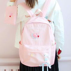 ●About Shipping: We attach great importance to the orders of each customer and parcel delivery. time: business days to US, please allow weeks shipping to other country.(Shipping times can Pretty Backpacks, Cute Mini Backpacks, Stylish School Bags, Modern Backpack, Fashion Backpack, Harajuku, Parcel Delivery, Cute Outfits, Processing Time