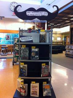 Display Ideas On Pinterest Book Displays Library
