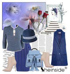 """Sheinside skirt"" by irinavsl ❤ liked on Polyvore featuring Chanel, Simon Pearce, Akira Black Label, Gucci, Sonia by Sonia Rykiel and Merona"
