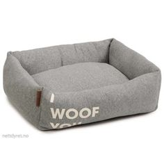 Panier I Woof You - Gris Beeztees / wanimo Tub Chair, Bean Bag Chair, Accent Chairs, Sofa, Furniture, Decor, Animal Crossing, Blog, Frases