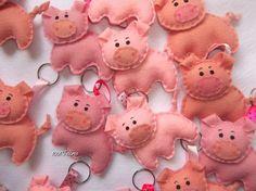 1001 Feltros: porquinho