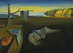 Learn about artist Salvador Dali and his surrealist paintings, including Persistence of Memory, his most famous surreal painting of melting clocks. Like most Surrealists, Salvador Dali painted dream sequences and made artwork from his imagination. Salvador Dali Gemälde, Salvador Dali Paintings, World Famous Paintings, Famous Artists, Famous Artwork, Art Paintings, Watercolor Paintings, Famous Art Pieces, Illusion Paintings
