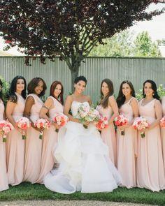 The Bridesmaids - Vanessa And Joe's Foodie Wedding In Napa, California