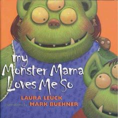 She tucks me tightly into bed, then asks me id my spider's fed and hangs my favorite bat above me. That's how I know my mama loves me! At once tender and funny, this monster bedtime story is guarantee