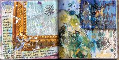 Art journal pages 4.10.12