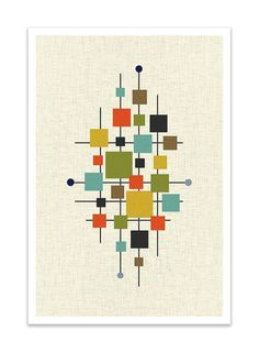 Mid-Century Modern Design & Decorating Guide - FROY BLOG - Mid-Century Modern Art