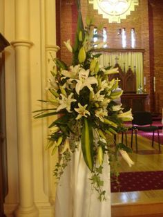 cathedral floral arrangements - Google Search