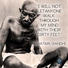 Gandhi Quote - #yoga #mindfulness #findyouryoga www.yogatraveltree.com