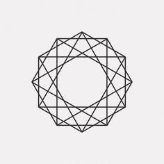 "dailyminimal: ""#DE15-428 A new geometric design every day """
