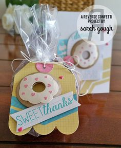 Countdown to Confetti - Donut You Know!  Sarah Gough www.thinkingstamps.com