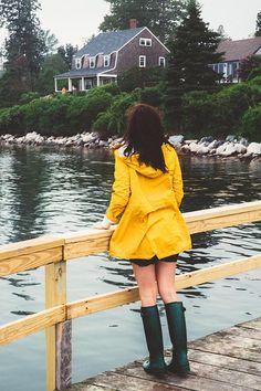 Classy Girls Wear Pearls: Wagons, Boats, and Raincoats