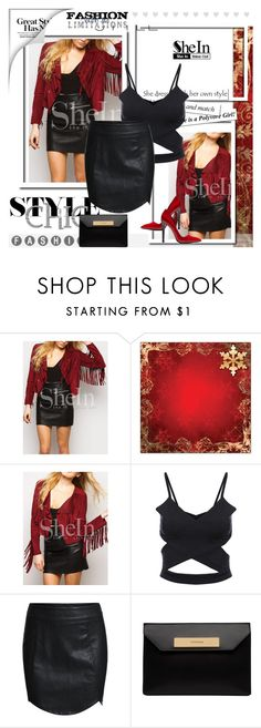 """""""SHEIN 1"""" by melisa-j ❤ liked on Polyvore featuring moda, Balenciaga, Anthony Vaccarello ve shein"""