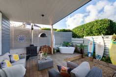 Two Bare Feet Luxury self-catering Holywell Bay, Luxury self-catering Holywell Bay Cornwall
