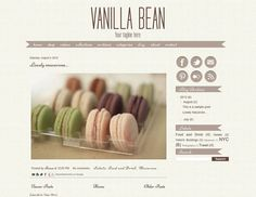 Recipe Blog Template. how to make a cooking website 13 delicious ...