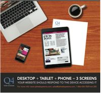 Q4 Launches 3 Screen™ mobile solution for Non-Q4 Hosted IR websites. Check out the full blog here: http://www.q4blog.com/2014/04/21/q4-launches-3-screen-mobile-solution-for-non-q4-hosted-ir-websites/
