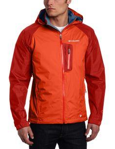 e2abb69ed3c  105   Amazon.com  Columbia Rain Tech II Jacket - Men s Foliage