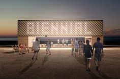 Lakefront Kiosk Proposal | Architect Magazine | TRU Architekten, Chicago, Illinois, Cultural, New Construction, Lakefront Kiosk Competition, Arts and Culture, Chicago-Joliet-Naperville, IL-IN-WI, Chicago Architecture Biennial