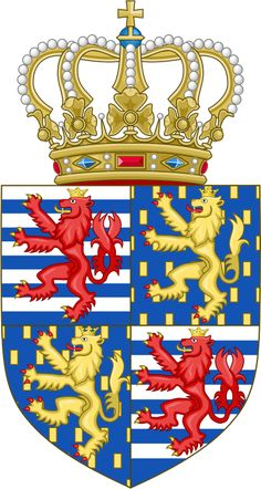 Lesser coat of arms of the grand-duke of Luxembourg(2000) -