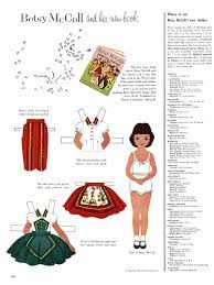 betsy mccall paper doll - Google Search