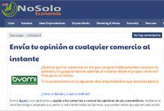 El blog de noticias emprendedoras Nosoloeconomia, publica un post hablando de Byom!, puedes verlo aquí: http://nosoloeconomia.com/opinion-al-comercio-en-cualquier-lugar/