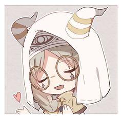 V Chibi, Anime Chibi, Kawaii Anime, Game Character, Character Design, V Cute, Identity Art, Couple Art, Funny Art