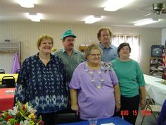 My Family.  My Sister Charmaine, brothers Albert and Claude, myself, and our dear mother Darlene