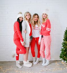 Pajama Ideas for Christmas + My Favorite Things Giveaway... - Pink Peonies by Rach Parcell