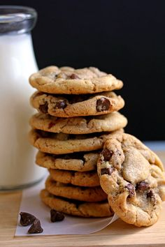 The Best Chewy Chocolate Chip Cookies Ever! | www.grandbaby-cakes.com