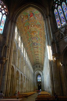Ely Cathedral, Cambridgeshire, UK by Tony Hammond - I really want to visit this church