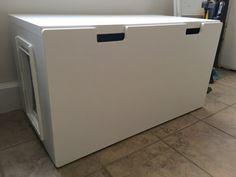 Easy to Clean Stuva Bench Litter Box