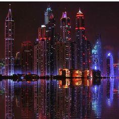 Quiet night  (at Dubai Marina) | Fidelio Cavalli