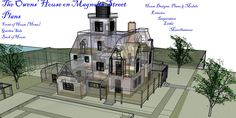 plans owens practical magic blueprints dollhouse dream floor witch cottage miniature drawing games