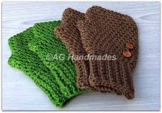 AG Handmades: 20:20 Fingerless Gloves free pattern