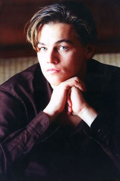 1997 - The short-spiky-hair-don't-care Leo.  His famous three-spike look at the premiere of Titanic.