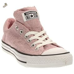 9de80d92980de4 Converse Womens Chuck Taylor All Star Madison Pink Freeze Black White  Sneaker - 10