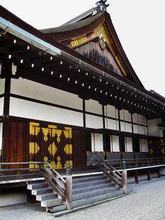 Kyoto Imperial Palace, Kyoto, Japan by Japanese Castle, Japanese House, Japanese Palace, Japanese Architecture, Amazing Architecture, Amaterasu, Geisha, Asia Travel, Japan Travel