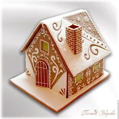 Gingerbread House Designs, Gingerbread Decorations, Christmas Gingerbread House, Gingerbread Man, Gingerbread Cookies, Christmas Cookies Gift, Christmas Desserts, Christmas Baking, Christmas Treats