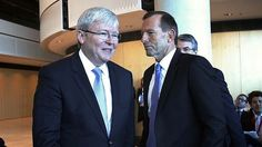 #auspol #ausvotes -- Whoever the 'real' KRudd is, all of them are better than one #CreepyTony #Abbott. I think the ALP have proved they can run the ship in difficult circumstances and as long as they can keep Ego-Maniac Rudd under control, i.e. not drive them all nuts, then Australia will continue in safe hands. That's just my humble opinion. I've become so political since Julia! http://www.theage.com.au/federal-politics/federal-election-2013/rudd-unmasked-20130816-2s266.html