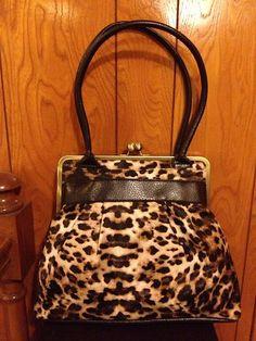 Leopard Print Handbag   eBay