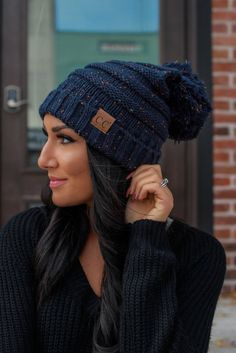 bc24992f Our Brix Beanie is just what you need as the temperature drops! This beanie  will keep you looking cute and cozy this season. An oversized slouchy  confetti ...