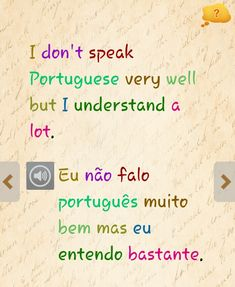 If you are planning to work in Portugal or any of the other countries where Portuguese is spoken then it can only be to your advantage to learn as much of the language as possible. Portuguese Grammar, Learn To Speak Portuguese, Portuguese Words, Portuguese Brazil, Learn Brazilian Portuguese, Portuguese Lessons, Portuguese Language, Learn English, Portugal