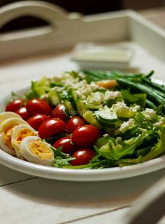Green Goddess Salad (in Dutch with translator)