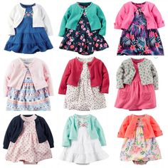 Ropa Bebe Carters Vestidos Sweater Conjuntos Niña - $ 319.00 en Mercado Libre