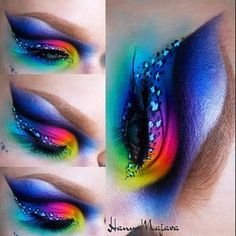 @hannamajava has put together some of the most gorgeous, creative looks -- THIS has to be a top 3 for me! This one uses a few of the Pro Mattes, including #cmfame #cmbulletproof and #cmravage! ❤️