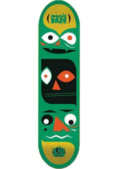 Alien-Workshop Manic-Daze - titus-shop.com  #Deck #Skateboard #titus #titusskateshop