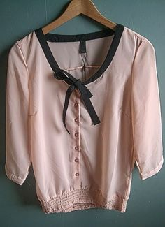 Jannu smock bow blouse from Vero Moda