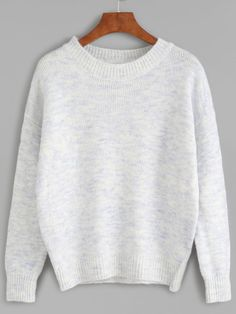 Cut-Outs Jersey Pullover