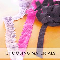 Choosing Materials and Fabric for Lingerie | How To Sew Lingerie Tutorial, Tips, and Tricks | How to Sew Bras and Panties | How to Make Underwear