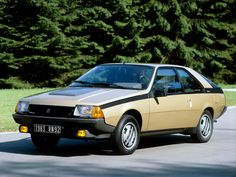 Renault Fuego 1980. 1980 - 1992                                                                                                                                                      Más